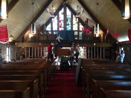A New Happy Home: Old St. Barnabas organ relocated to St. Simon