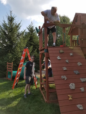 Building our playset