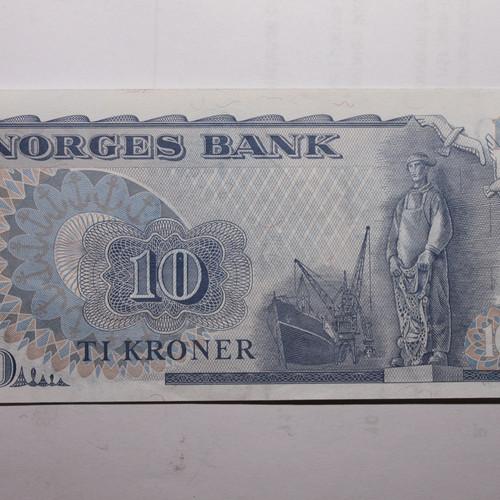 en krone seddel 1917