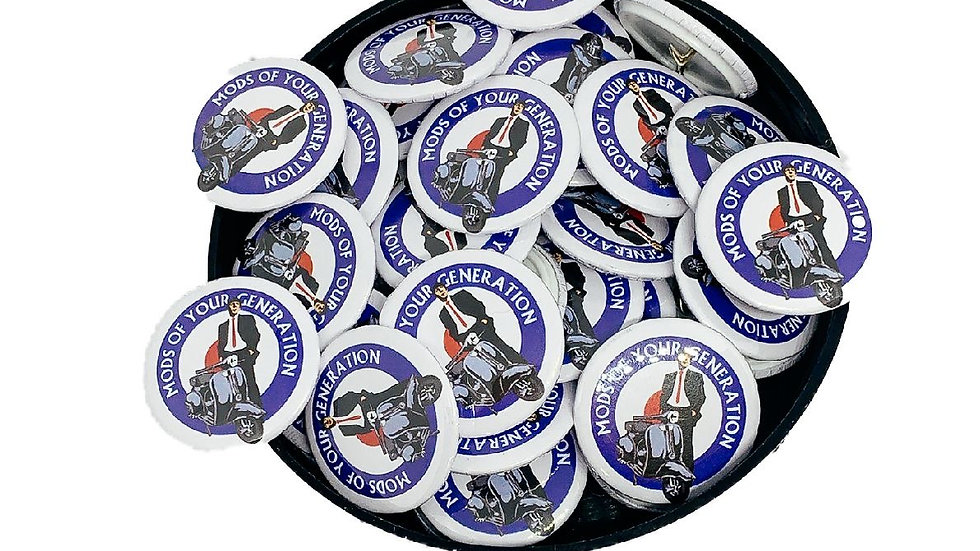 MODS OF YOUR GENERATION PIN BADGE