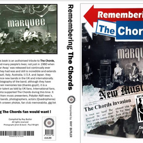 Remembering  The Chords Book - An interview with Author Ray Butler