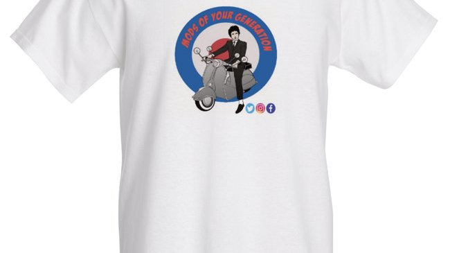 MODS OF YOUR GENERATION LOGO T-SHIRT