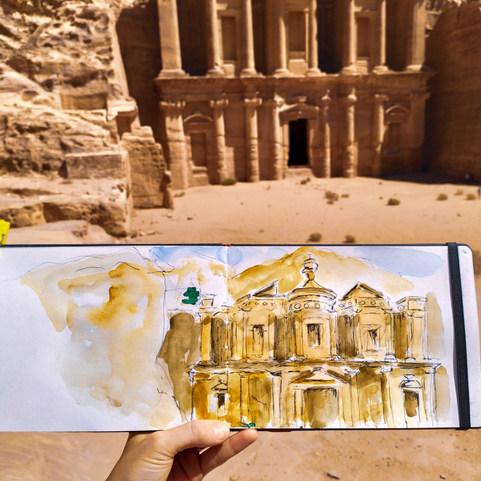 Petra, Jordan. The Monastery
