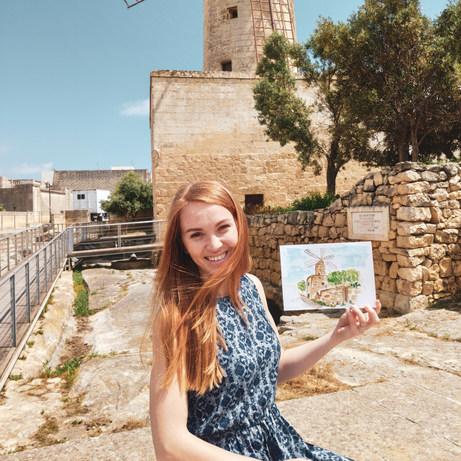 Xarolla Windmill, Malta