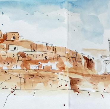 Chenini, Tunisia