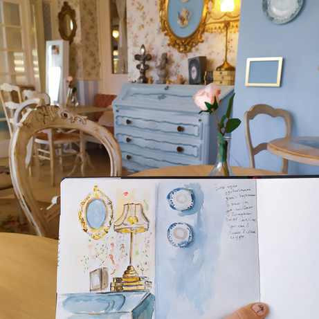 Malta, Carolina's tea room