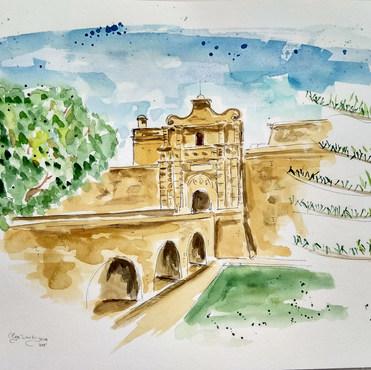 Mdina Gate, Malta