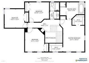 Schematic Floor Plan - Floor 3