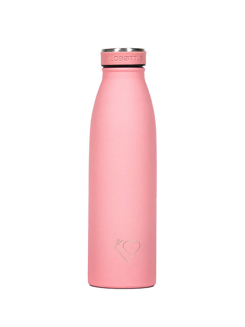Trinkflasche Rose
