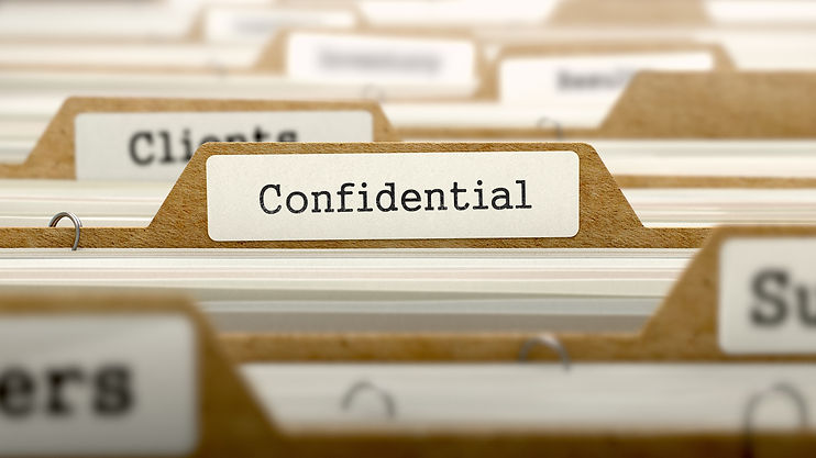 Confidentiality professional Athete