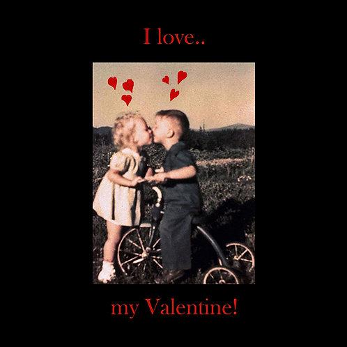 Valentines - kissin' kids