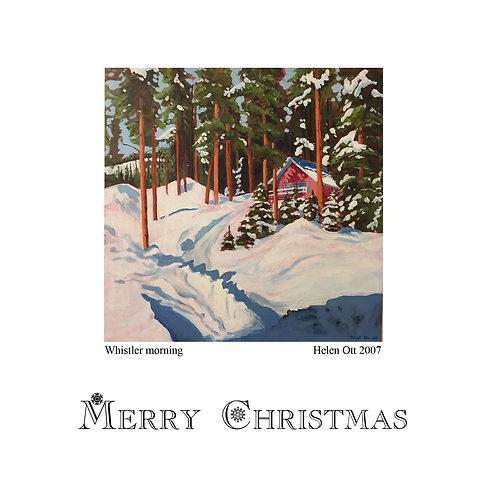 Whistler Christmas ( by Helen Ott)