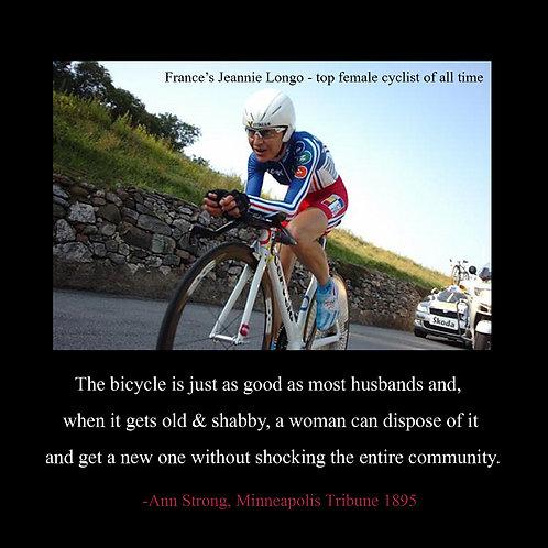 cycling - Jeannie Longo