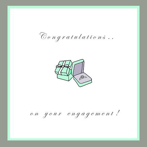 wedding engagement - ring box