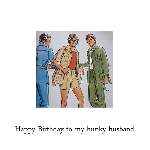 husband birthday -hunky husband