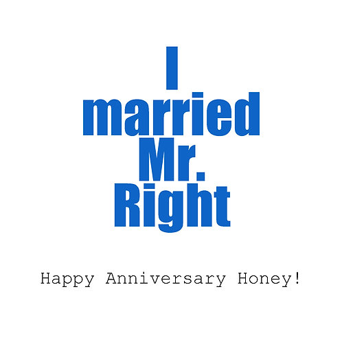 Ann. to spouse - Mr. Right