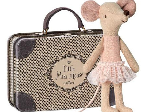 Ballerina mouse in suitcase - Big Sister