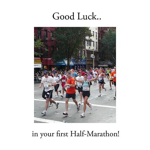 running - half marathon
