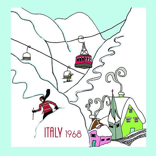 Vintage Ski (Italy 1968)
