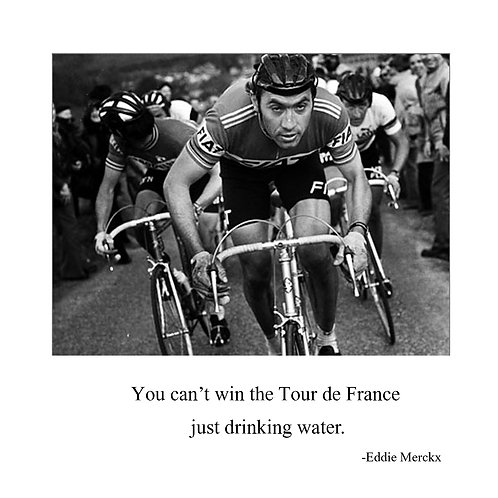 cycling - Eddie Mercks - can't win the Tour
