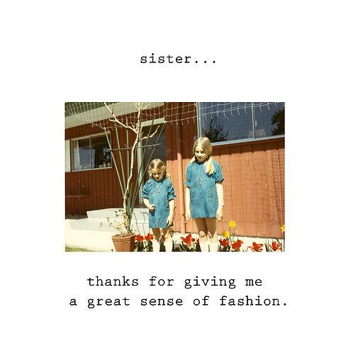 Sister - sense of fashion