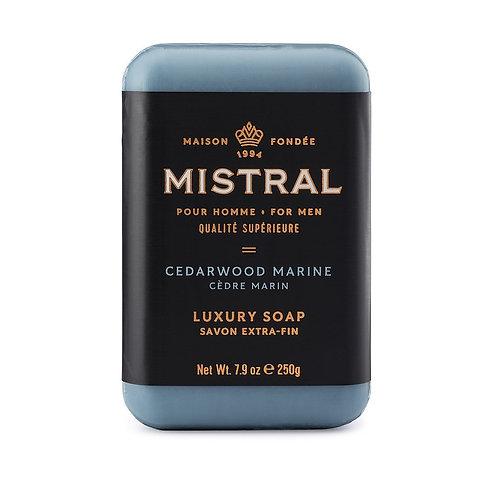 Mistral Cedarwood Marine men's soap