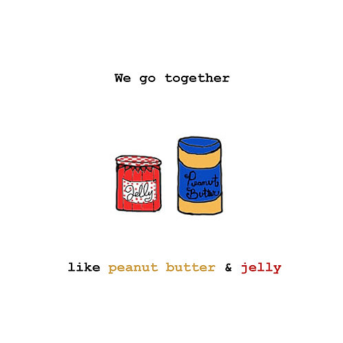 Pb & j we go together