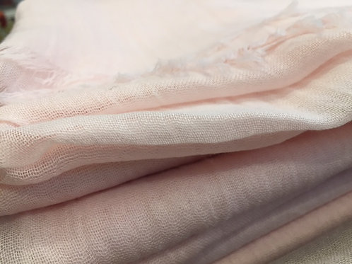 Soft bamboo scarves - soft pink