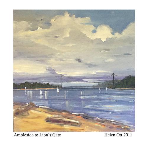 Ambleside to Lions gate- Helen Ott
