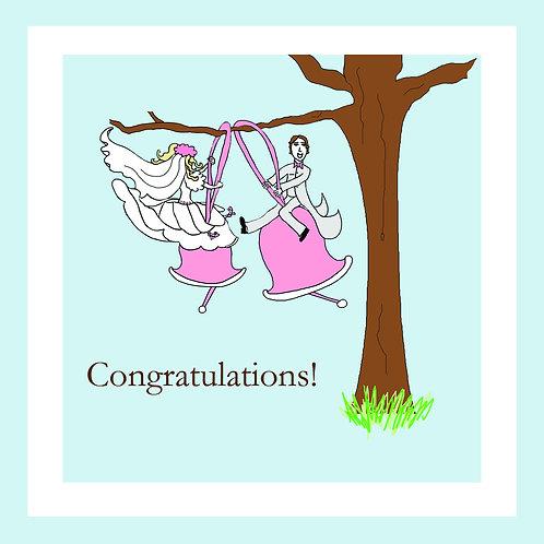 wedding - tree swing