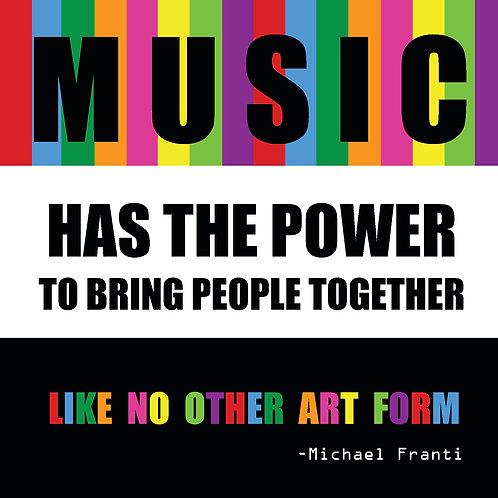Michael Franti - music has the power
