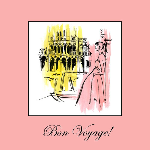bon voyage - Rome in pink