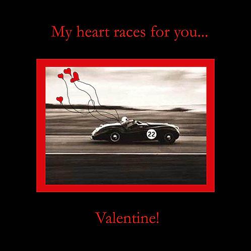 Valentines - race car