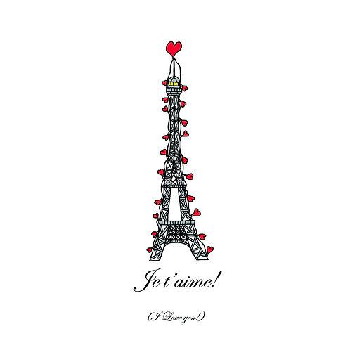Valentines - Eiffel Valentine