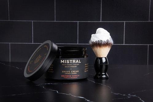 Mistral Black Amber Shave cream