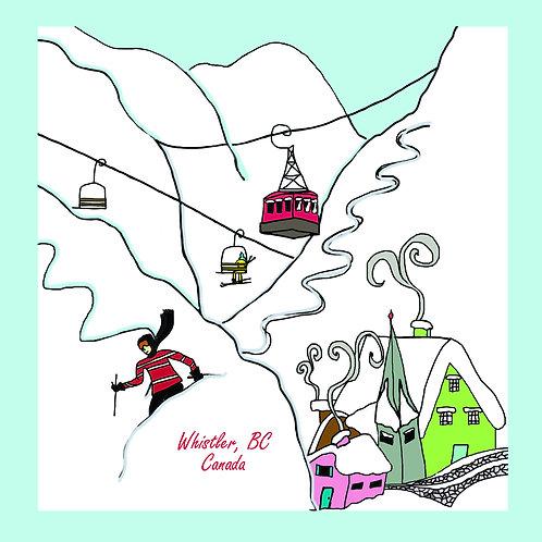 Vintage Ski (Whistler)