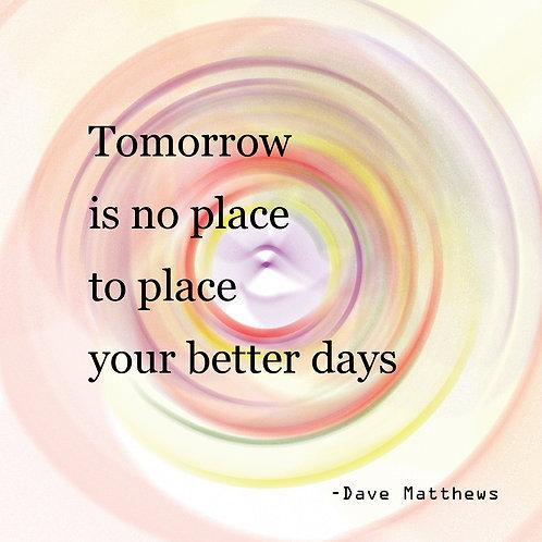 Dave Matthews - better days