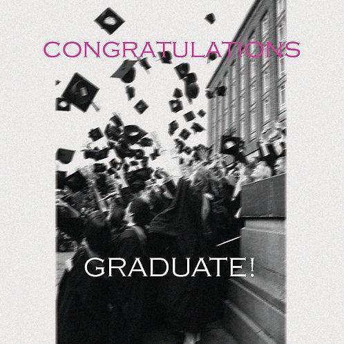 Grad - flying caps