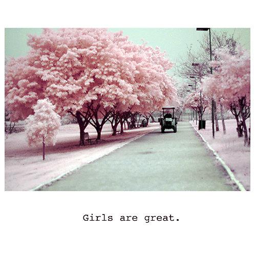 girls are great - blossum