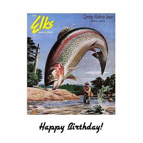 Vintage fishing mag