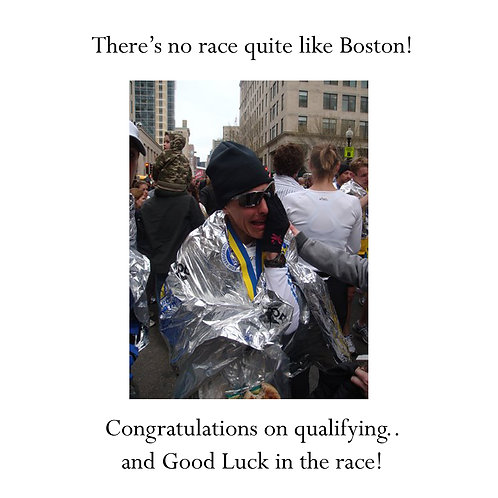 running - crying after Boston