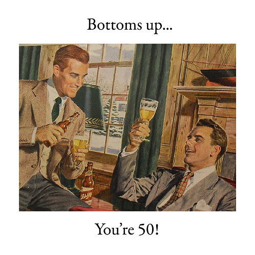50th bottoms up