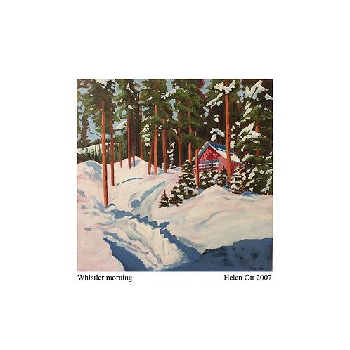 Whistler morning - Helen Ott