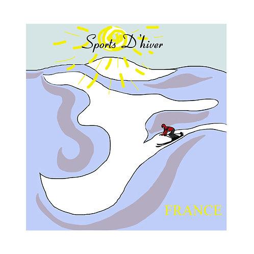 Vintage ski (Sports D'hiver)