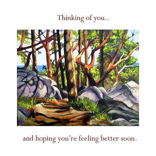 get well - Painter's lodge arbutus (Helen Ott)