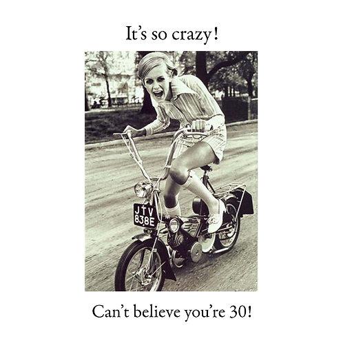 30th bike girl