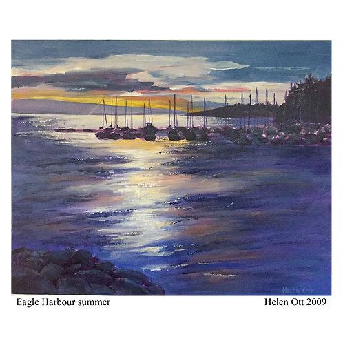 Eagle Harbour summer