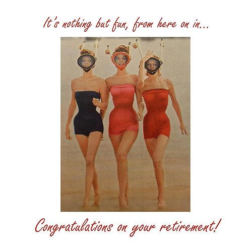 retirement - scuba babes