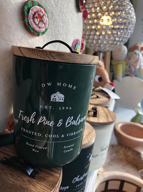 DW Home Farmhouse - Fresh Pine & balsam candle
