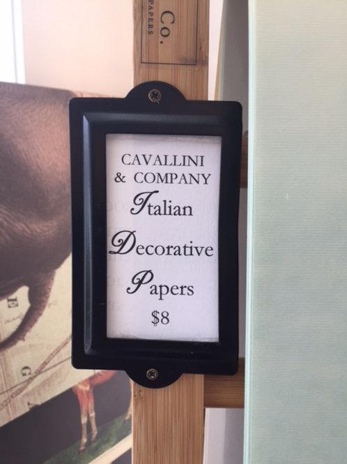 Cavallini & Company Italian fine papers
